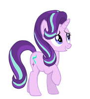Starlight Glimmer Season 6 Mane Style MLP Vector by LyraKitty