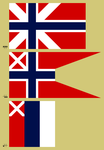 Alternate Norwegian Flags by Kurarun