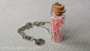 A jar of candy canes for your neck by Jennut