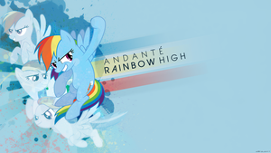 [Cover Art] Andante - Rainbow High by derplight