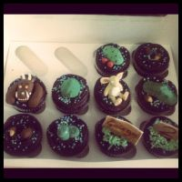 Gruffalo chocolate Cupcakes by AdaBerry