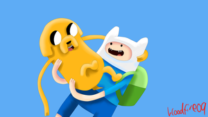 Finn And Jake by Bloodfire09