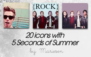 Icons: 5SOS set1 by Mariesen