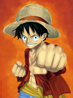 Luffy by GTColors