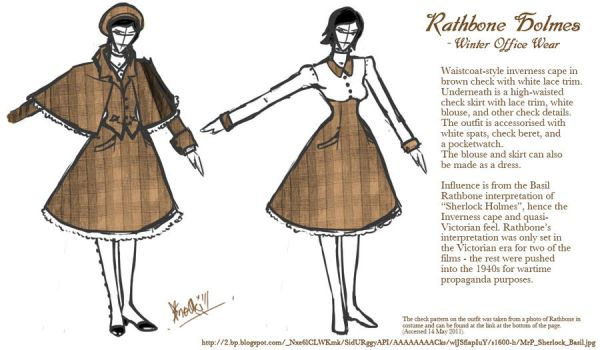 Rathbone Holmes: Office Wear by Sno-Oki