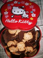 Hello Kitty Cookies 2.. by blutpueppchen