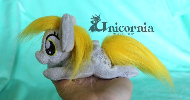 + For Sale: Derpy Hooves mini beanie baby + by Unicornia-Workshop