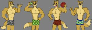 Hunter's Underwear by MetalExveemon