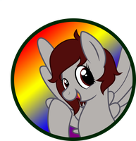 Color Wheel Button by SweetTextArt