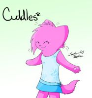 Cuddles :Toontown Request: by LightAnimaux
