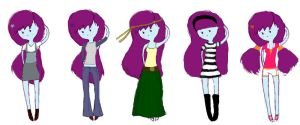 Minny's Outfits by Flower-For-A-Ghost