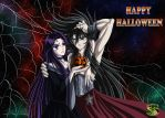 Hades and Pandora, the late Halloween.... by Ryushenron