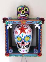 Sugar Skull Display View 4 by johannachambers