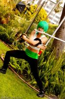 One Piece: (Female) Zoro by hellozombie