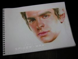 Peter Parker - The Amazing Spider-Man WIP 6 by A-D-I--N-U-G-R-O-H-O
