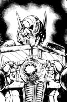 IDW Transformers 21 Cover by GuidoGuidi
