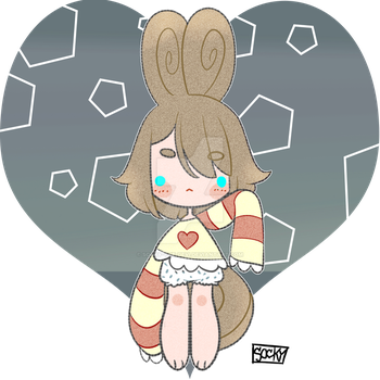 Chocolate bunny [Hatched] by: defigure by Socky-the-Devi