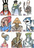 Star Wars Galaxy Sketch Cards - 04 by Monster-Man-08