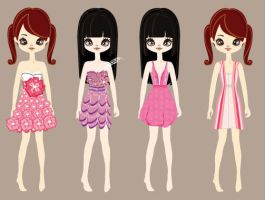 Poupee girl item design by PixieDivision