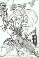 Shifter (Revised) Pencils by CliffEngland
