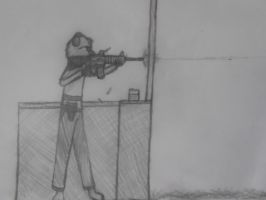 At The Range by BlueMoon63