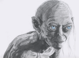 Gollum-Smeagol by Mercurian