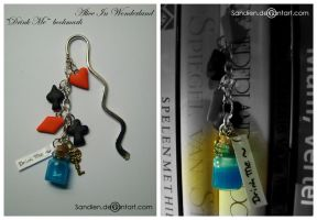 Alice in Wonderland Bookmark by Sandien