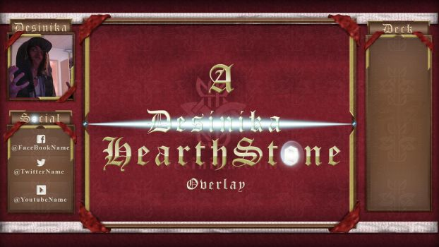HearthStone Streaming Overlay (No.1 - Preview only by Desinika