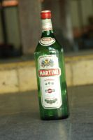 martini bottle by blur-stock