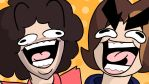 Game Grumps Thumbnail Thing by myhelmethazstickers