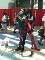 Joker and Harley Quinn at Anime Expo 2011 by trivto