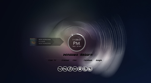 windows reborn rainmeter by Adamanimie