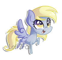Chibi Derpy by Left2Fail