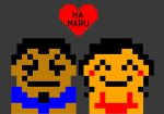 Hamaru 8-Bit Love by Half-paint