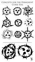 Curse Seal Concepts by ObsidianSickle