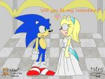 Valentine - Sonic and Cindy by MileyMouse