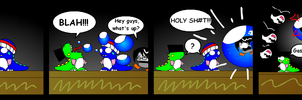 RG Comic: Bubble Bobble by Snowbacon