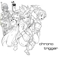 Chrono Trigger fan by Sam-san