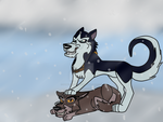 Balto and Steele by samanthaxkizzy