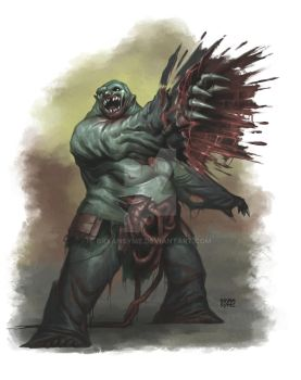 Ogre Zombie by BryanSyme
