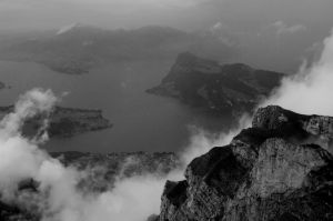 View from Mt. Pilatus by ItsAGoodDayBob