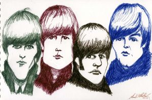 Beatles by donaldmatlack