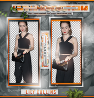 +Photopack png de Lily Collins. by MarEditions1