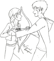 Peeta and Katniss- Kill Me by MageStiles