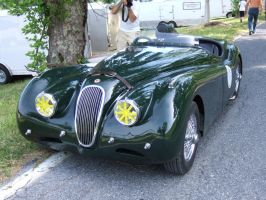 Jaguar XK-120 Race Prepped by Aya-Wavedancer