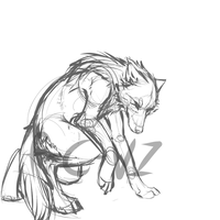 werewolf WIP by wave-line