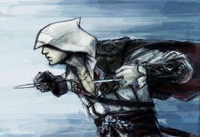 Ezio SPEED KILL by TheBoyofCheese