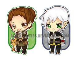 Dragon Age Charms by AsianPanties