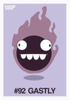 092 Gastly by hiugo