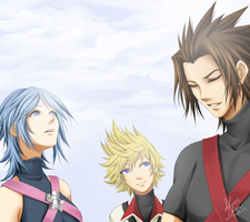 KH:BBS - Aqua Terra Ven CG Version by LightSilverstar